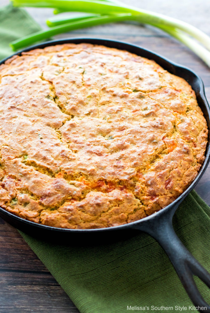 Baked Fully Loaded Cornbread