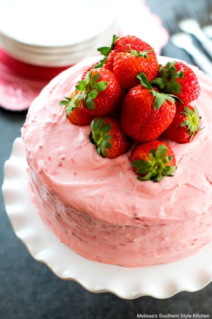 Easy Strawberry Layer Cake
