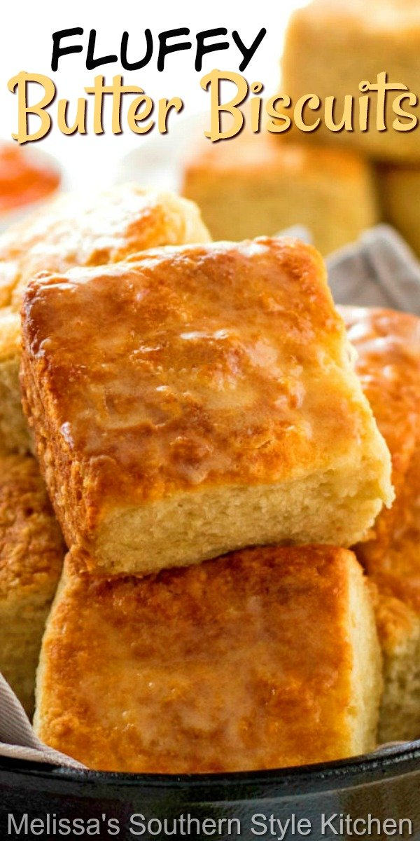 These buttery biscuits are cut into squares using a knife, no biscuit cutter required! #biscuits #butterbiscuits #southernbiscuits #easyrecipes #buttermilkbiscuits #biscuitrecipes #southernfood #southernrecipes #breakfast #bread #brunch #holidayrecipes #holidaybrunchrecipes