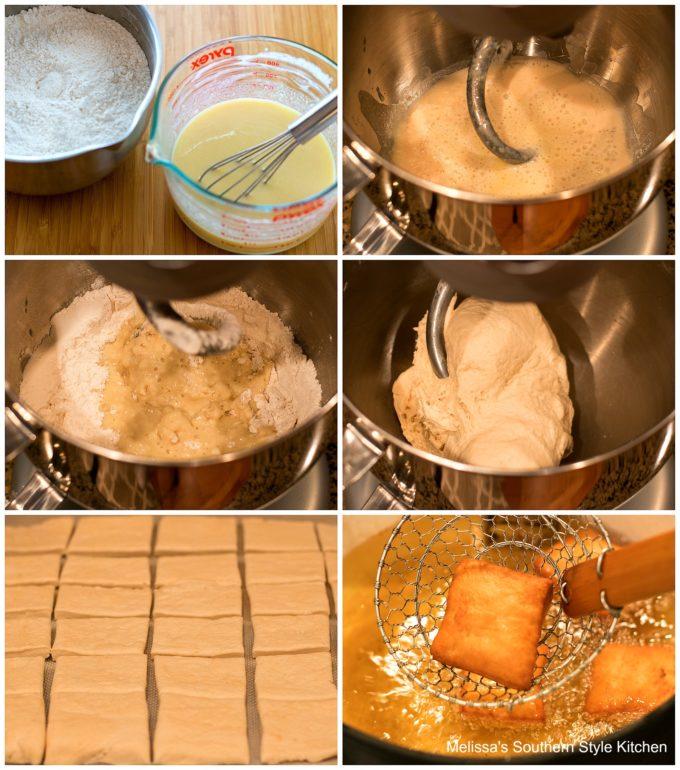 ingredients to make New Orleans Beignets