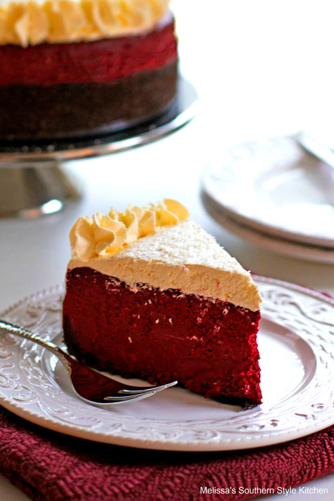 Red Velvet Cheesecake single piece