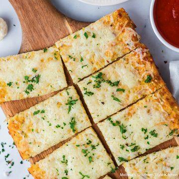 Recipe Cheesy Cauliflower Pizza Crust