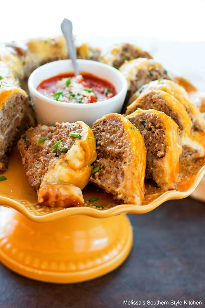 Cheesy Italian Meatloaf