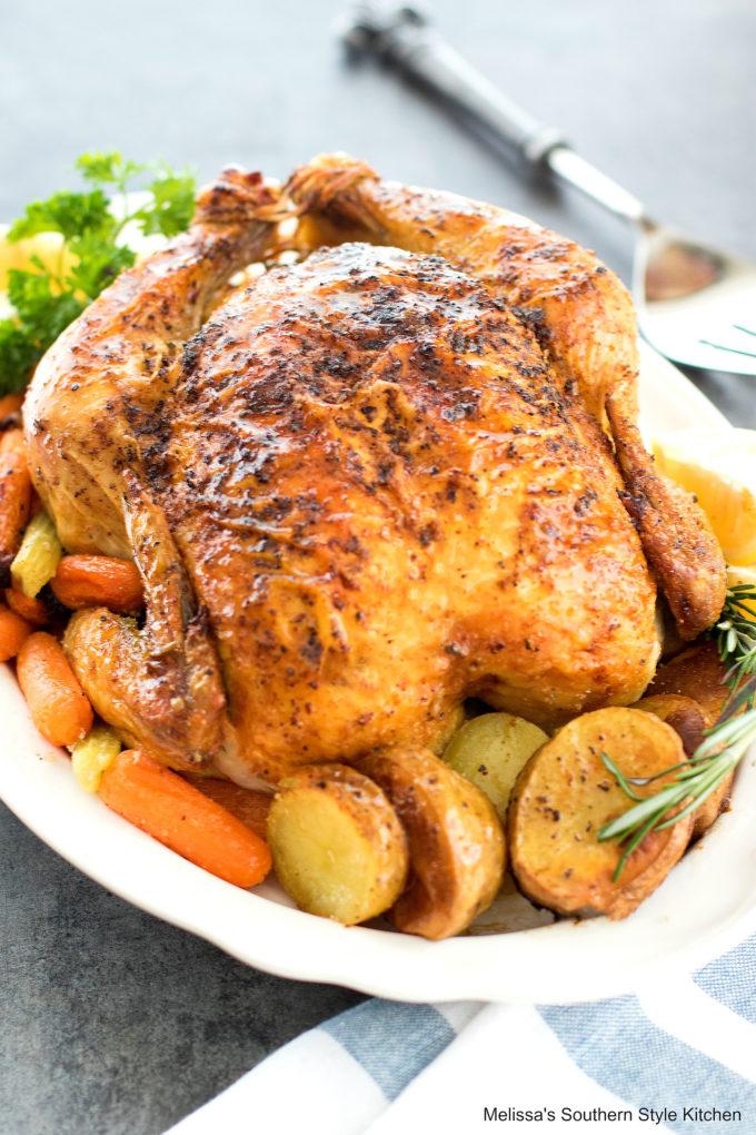 Lemon Rosemary Roast Chicken