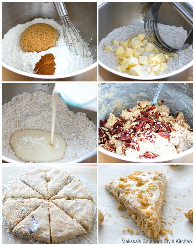ingredients to make Brown Sugar Pecan Scones
