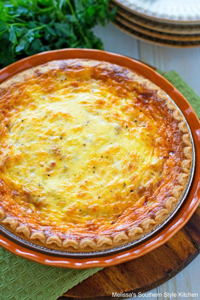 Baked Quiche Lorraine