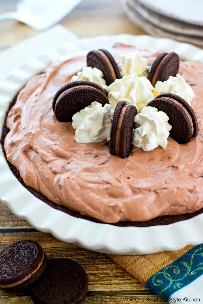 Double Chocolate Oreo Pie