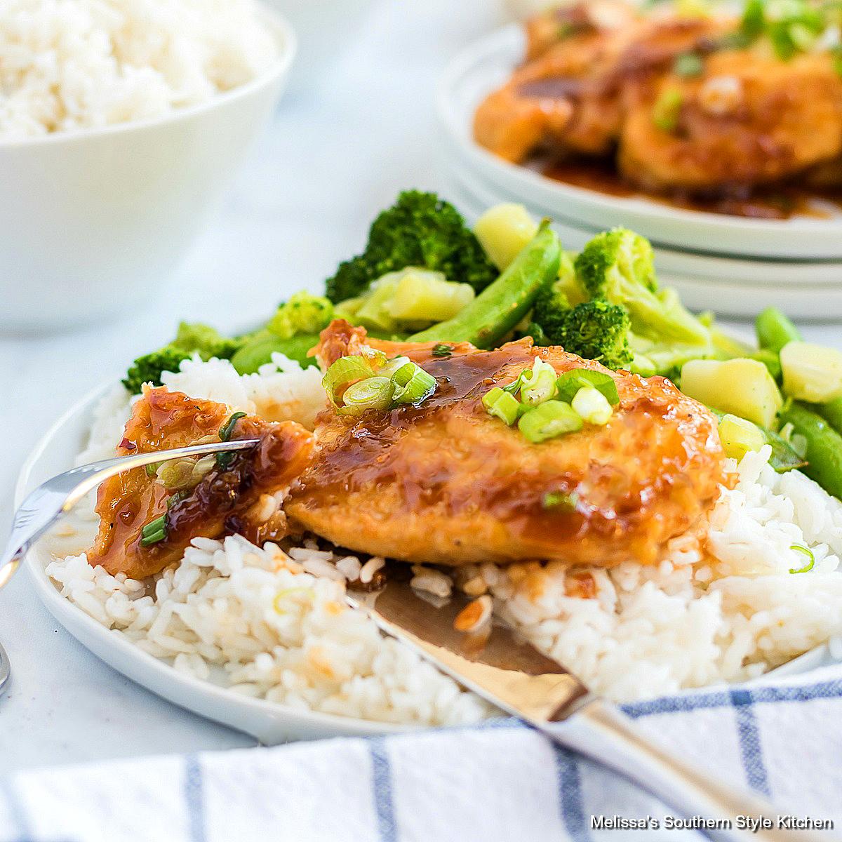 Garlic Brown Sugar Chicken Recipe
