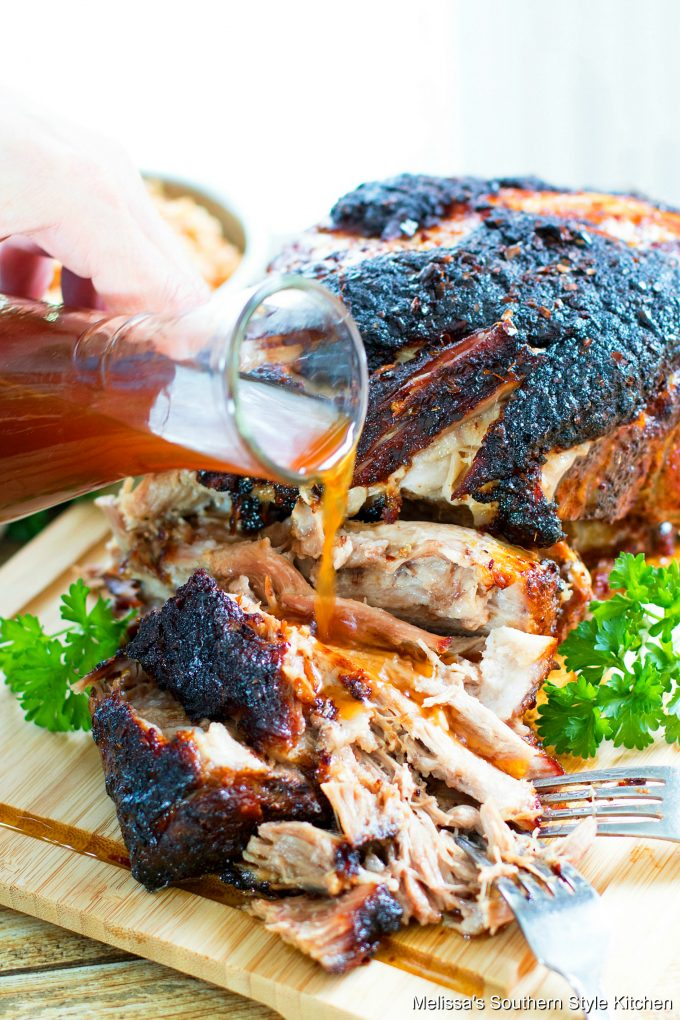 Pulled Pork Barbecue Recipe with vinegar sauce