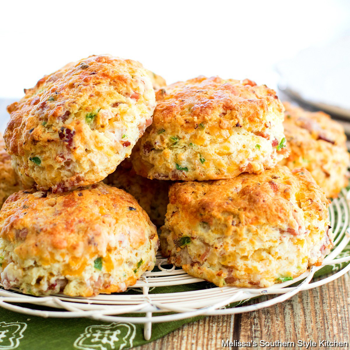 Recipe Ham and Cheese Biscuits