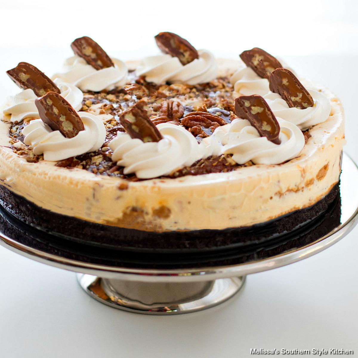Turtle Ice Cream Pie