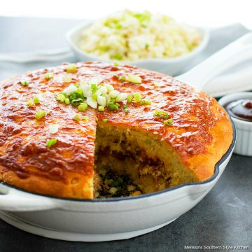 Pulled Pork Stuffed Cornbread