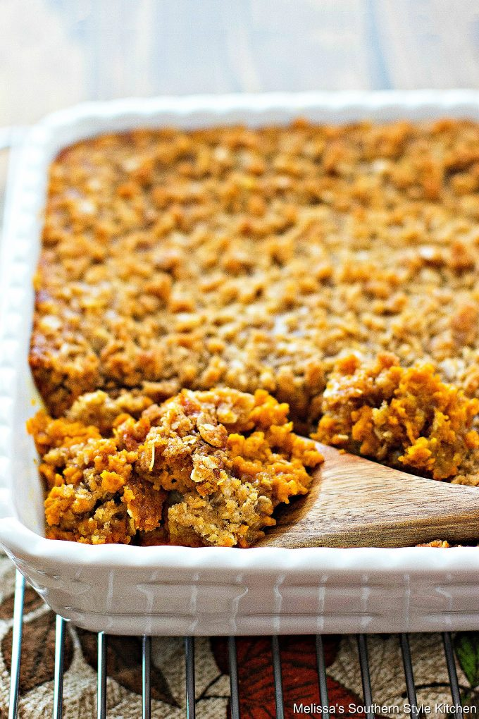 Pumpkin Pie Crumble