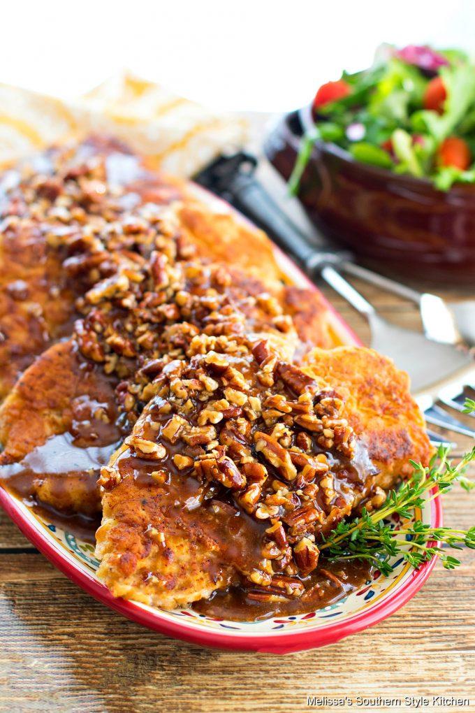 Honey Pecan Fried Chicken