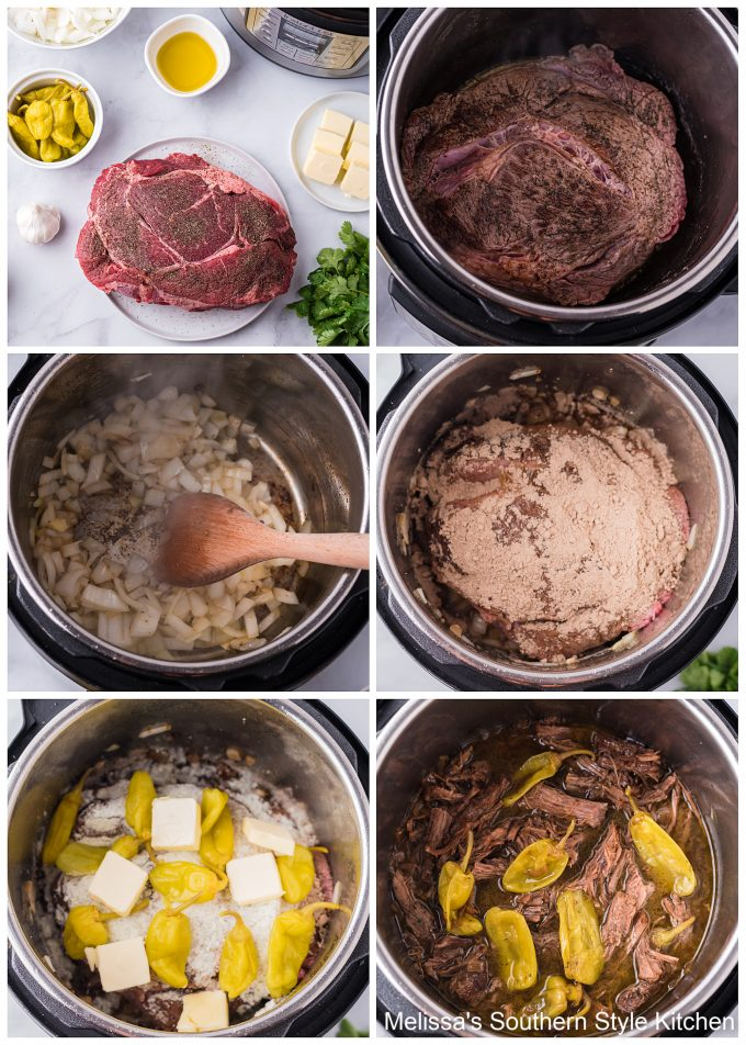 Intant Pot Mississippi Pot Roast
