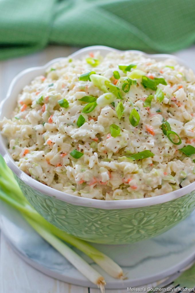 Southern Style Cole Slaw