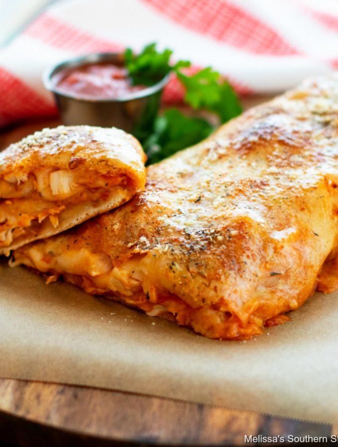 Chicken Parmesan Stromboli