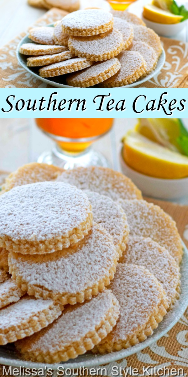 More like a cookie than a cake, these Southern Tea Cakes never disappoint #southernteacakes #shortbread #cakes #cakerecipes #teatime #southernfood #southerndesserts #holidaybaking #christmascookies #teacakes #easyrecipes #desserts #dessertfoodrecipes