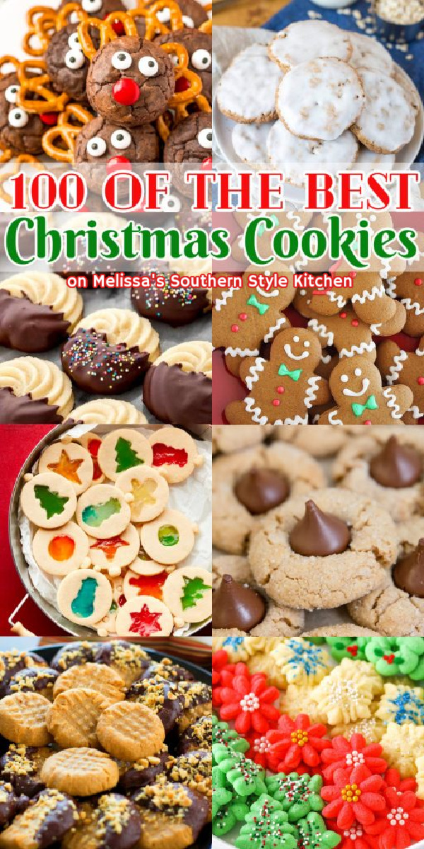 Kick off the holiday season and host a Virtual Cookie Swap with this collection of 100 of the Best Christmas Cookies #christmascookies #cookierecipes #cookieswap #virtualcookieswap #bestcookierecipes #100bestchristmascookies #cookies #holidaybaking #desserts #dessertfoodrecipes