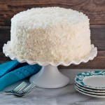 frosted Coconut Layer Cake recipe