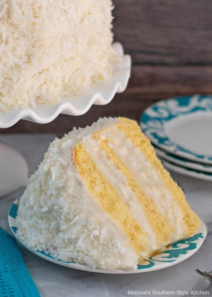 Coconut Layer Cake - Single Piece