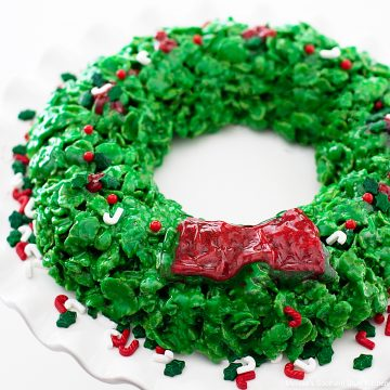 Cornflake Christmas Wreath