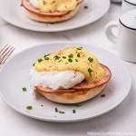 Eggs Benedict with easy Hollandaise Sauce recipe