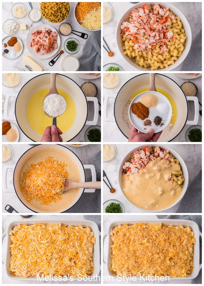 Lobster Macaroni and Cheese