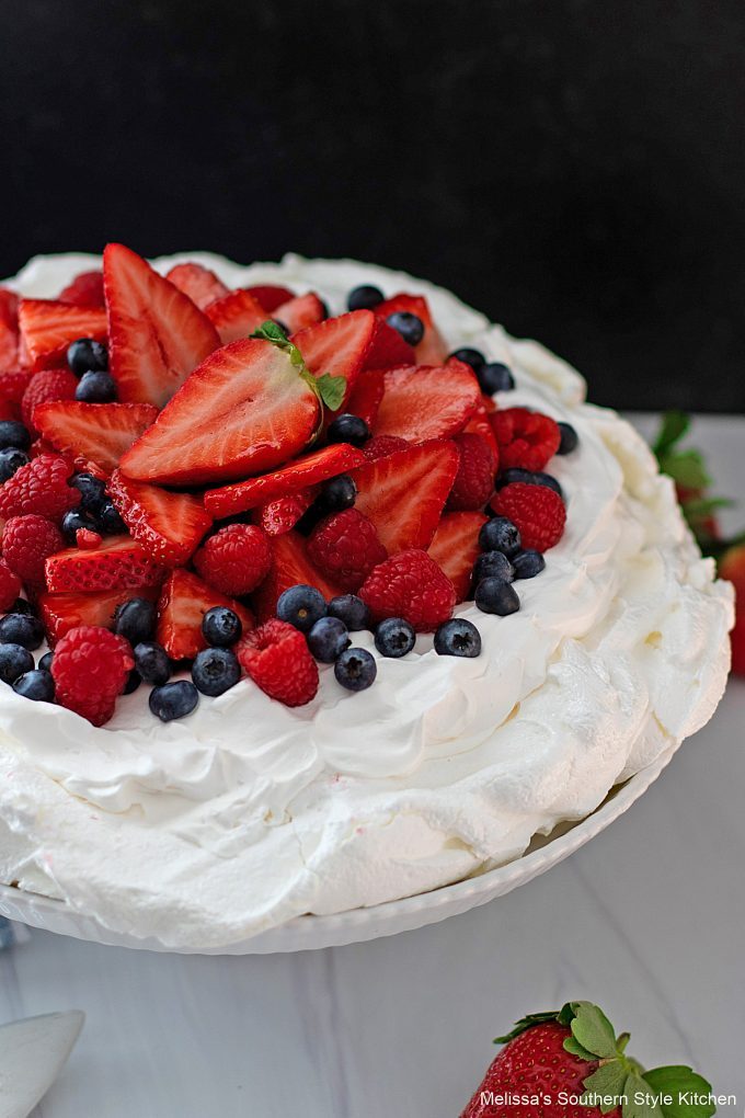 best recipe for Mixed Berry Pavlova