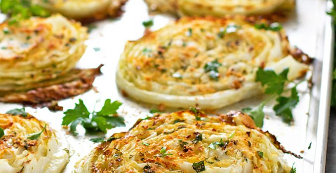 Oven Roasted Cabbage Steaks