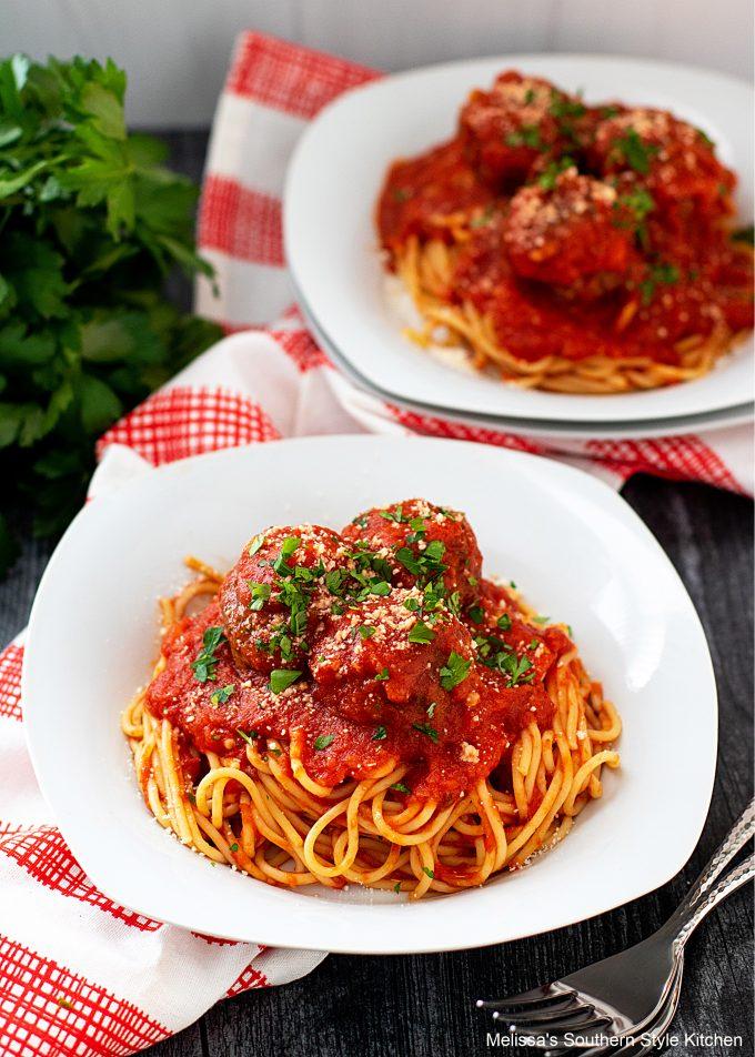 recipe for Spaghetti and Meatballs