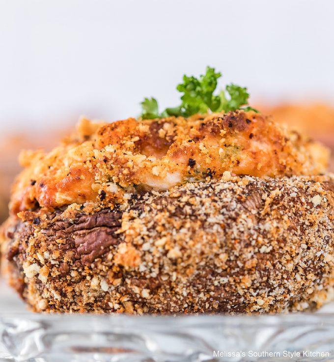 easy Air Fryer Jalapeno Popper Stuffed Mushroom recipe