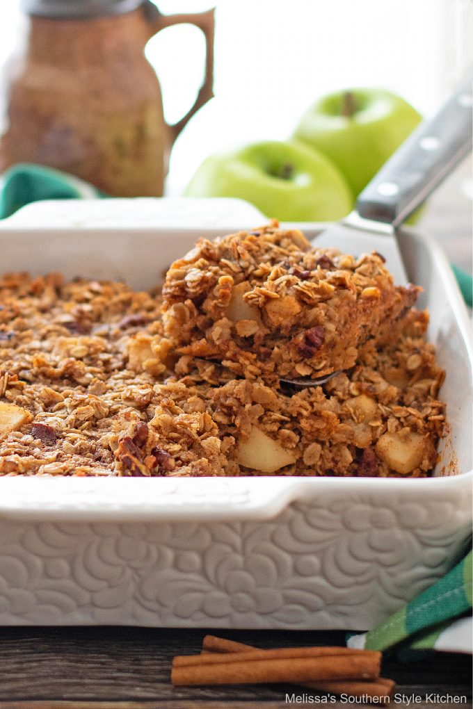 easy Apple Baked Oatmeal Recipe