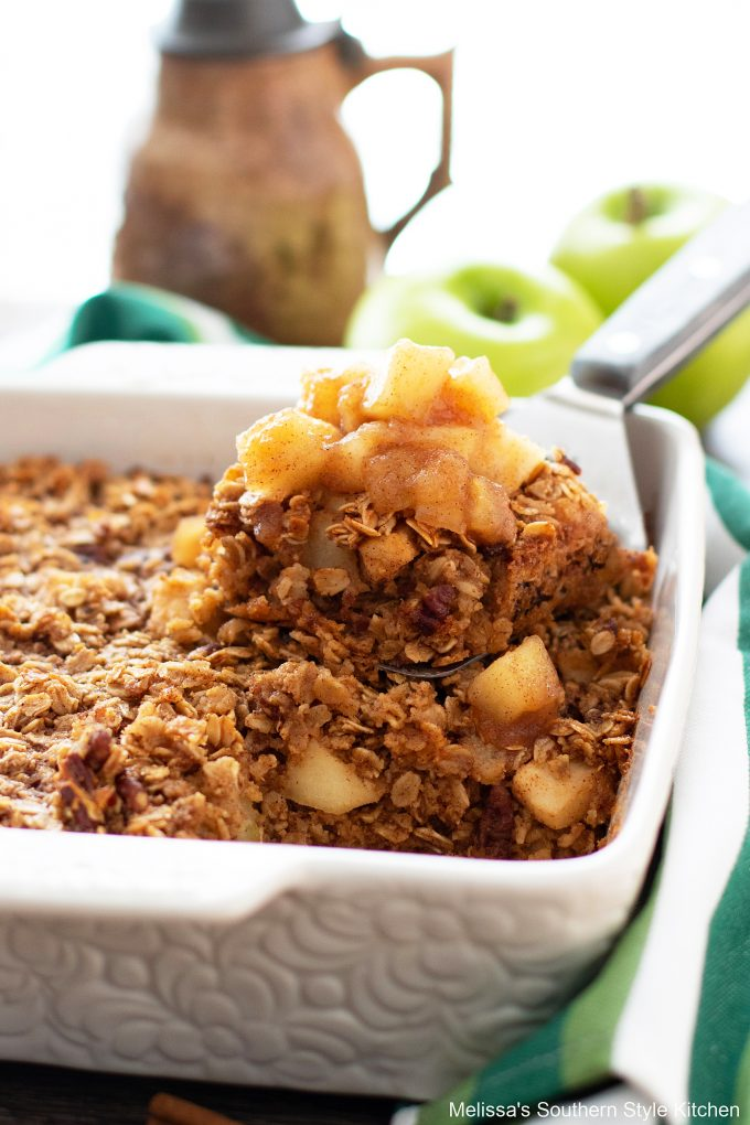 Baked Oatmeal Recipe with apples