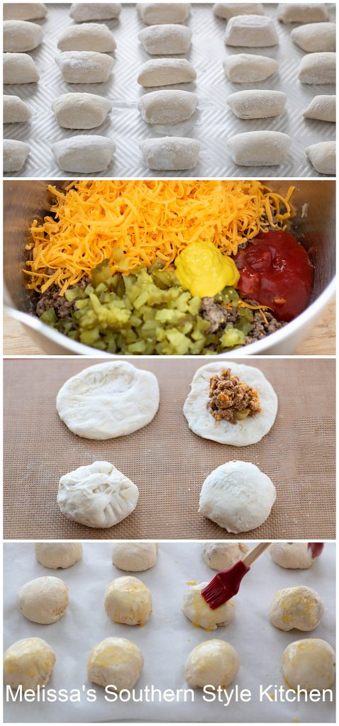 how to make Cheeseburger Bites