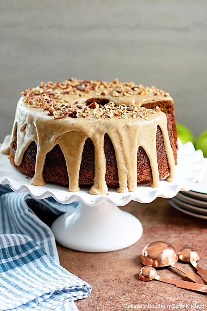 Applesauce Cake with Brown Butter Glaze
