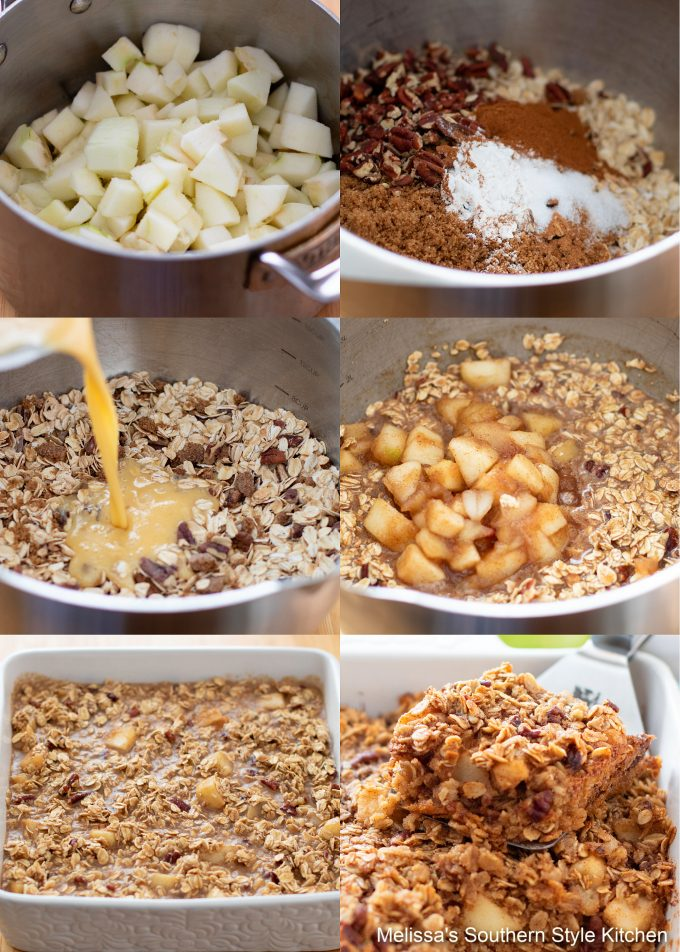 Apple Baked Oatmeal Recipe