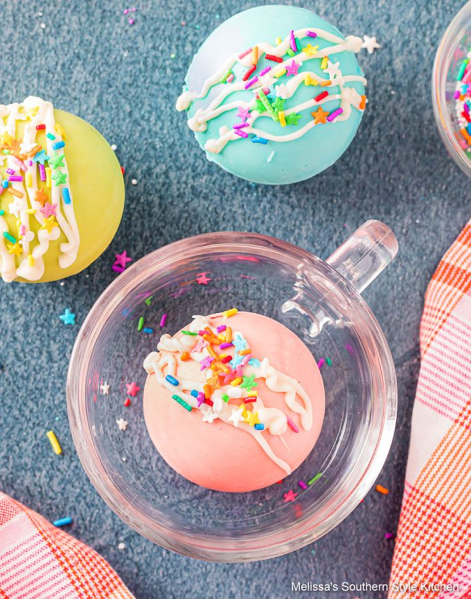 Spring or Easter Hot Chocolate Bombs