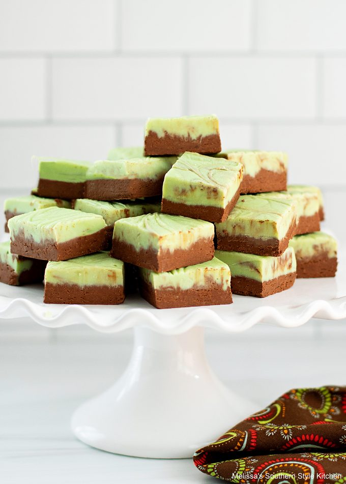 homemade Chocolate Mint Fudge