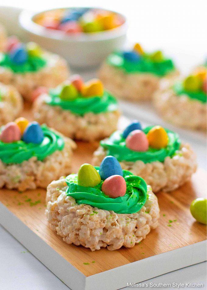 crafty Easter Rice Krispies Treats