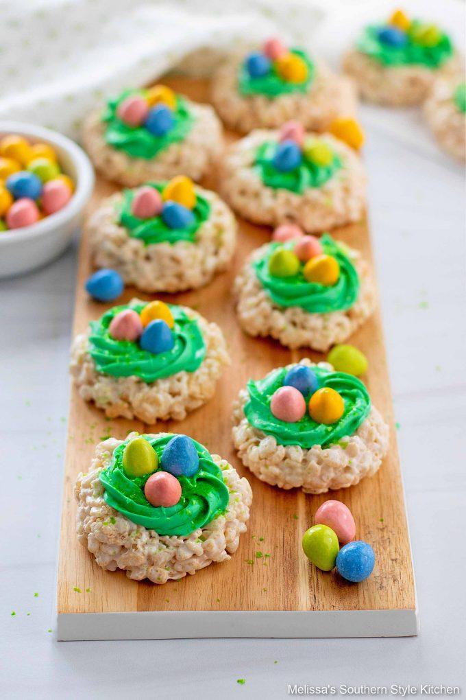 easy Easter Rice Krispies Treats