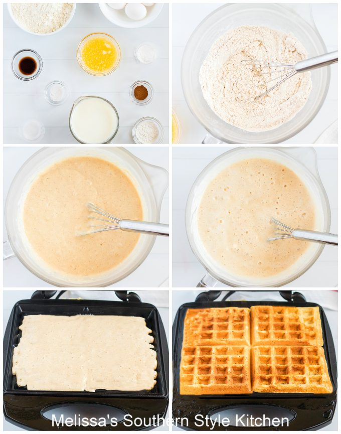 how to make Fluffy Buttermilk Waffles