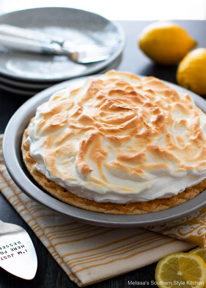 Lemon Meringue Pie dessert