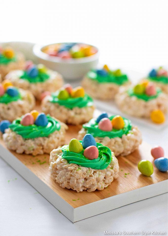 Easter Rice Krispies Treats recipe