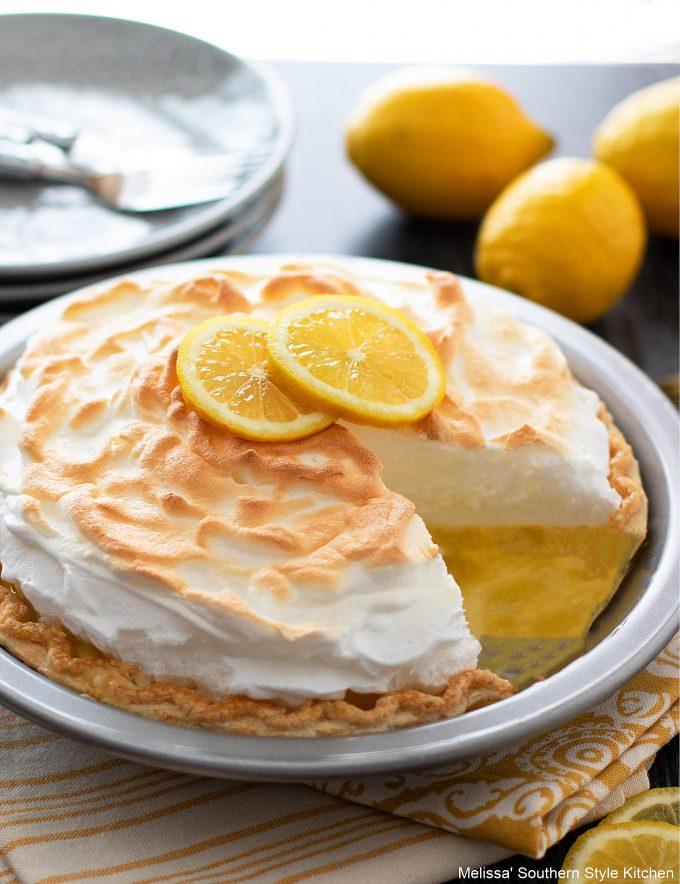 mile high Lemon Meringue Pie