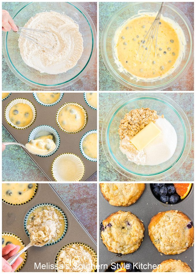 Blueberry Muffins with buttermilk