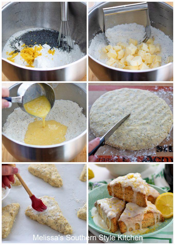 how to make Lemon Poppy Seed Scones