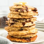 best ever Oatmeal Chocolate Chip Pancakes