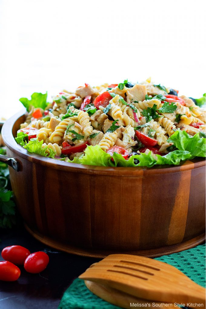 Italian Pasta Salad with Chicken
