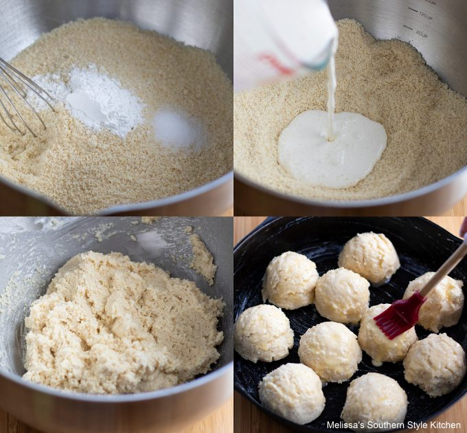 how to make Almond Flour Biscuits